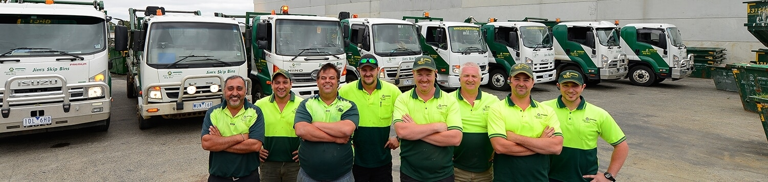 Employees For Jim's Skip Bins